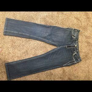 LA IDOL size 15 bling bootcut jeans